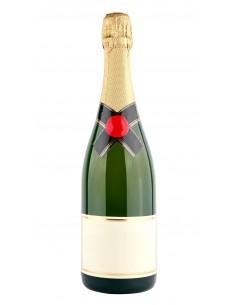 1/2 Bouteille de champagne