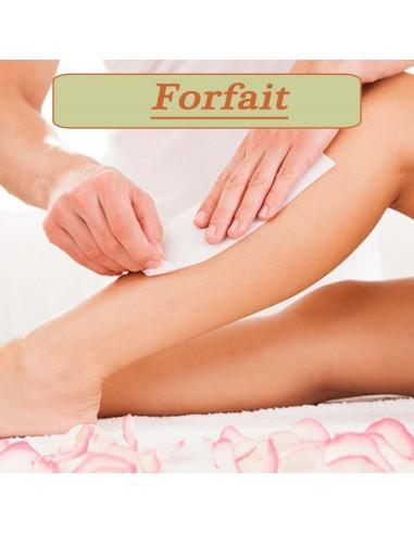 Forfait Jambes complètes + Aisselles...
